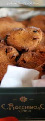 Biscotti di castagne e uvetta