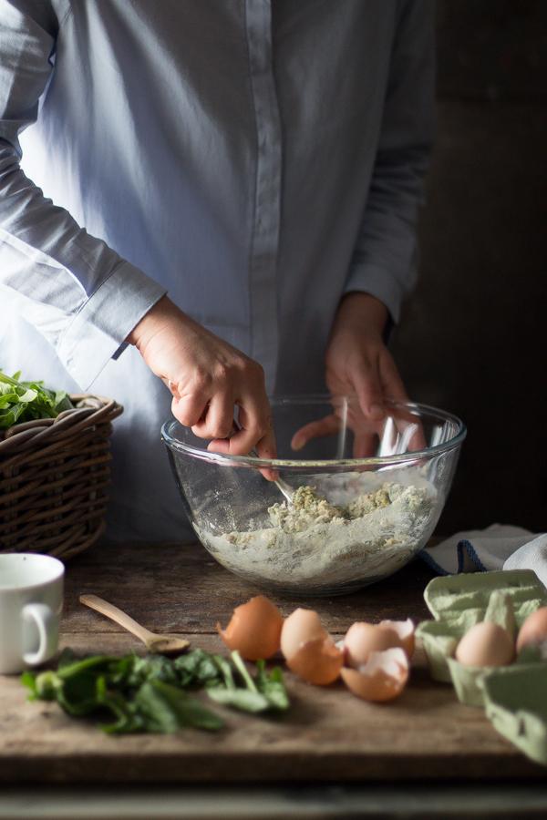 Tortelli verdi- spring ravioli