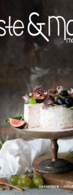 Angel cake gluten free con frutta d'autunno