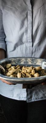 Tortelli al grano saraceno con cavolo verza e patate