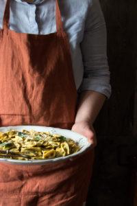Agnolotti del plin con spinaci borragine e ricotta